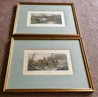 Antique 19th Century Hunting Prints